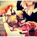 Maghrebi style mint tea