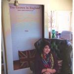 Sadia's visit to Tregothnan, inside the lovely shop