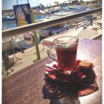 Mint tea in Port Yasmine 2