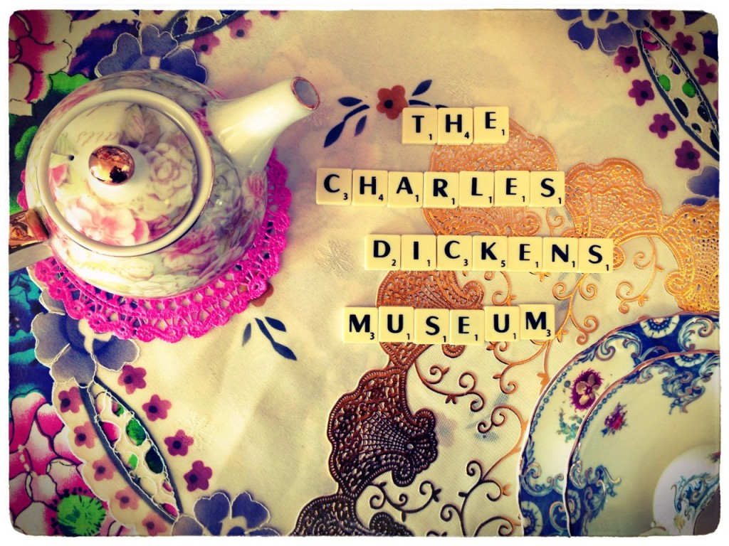 Sadia's Tea Party at the Charles Dickens Museum