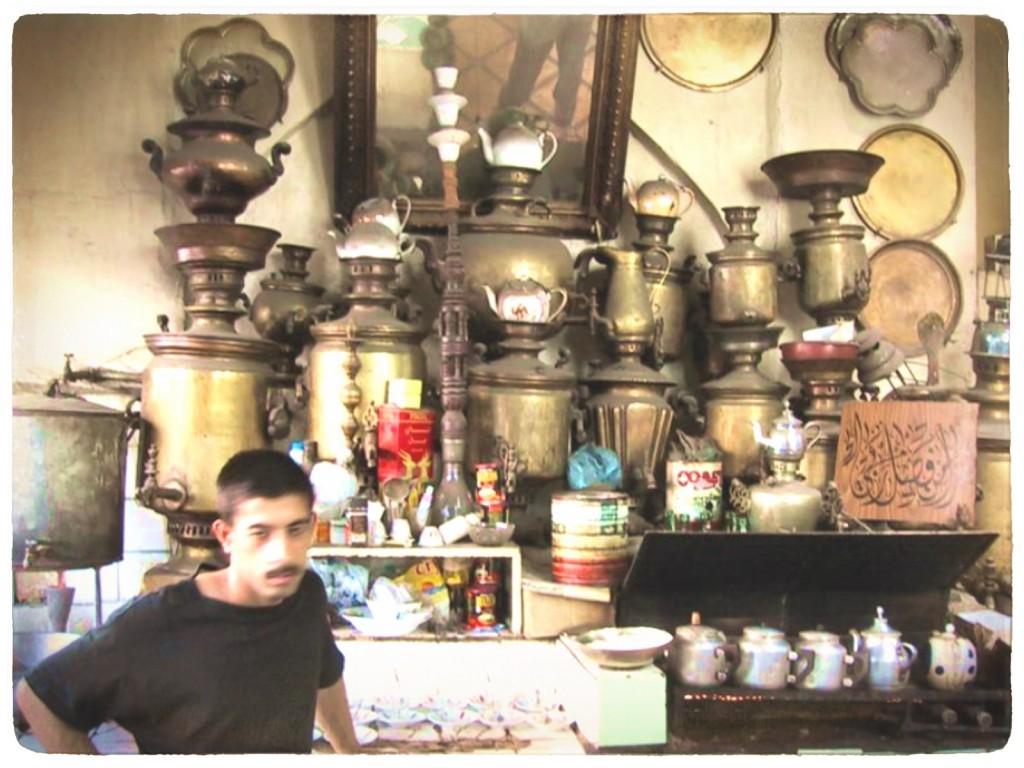 Iraqi tea house