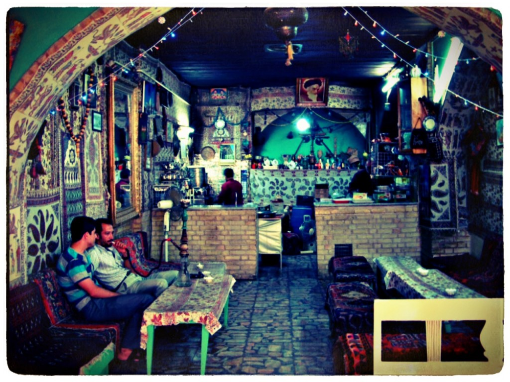 Chaikhaneh in Iran