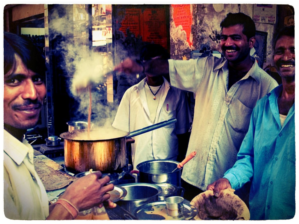 Chai wallah in India